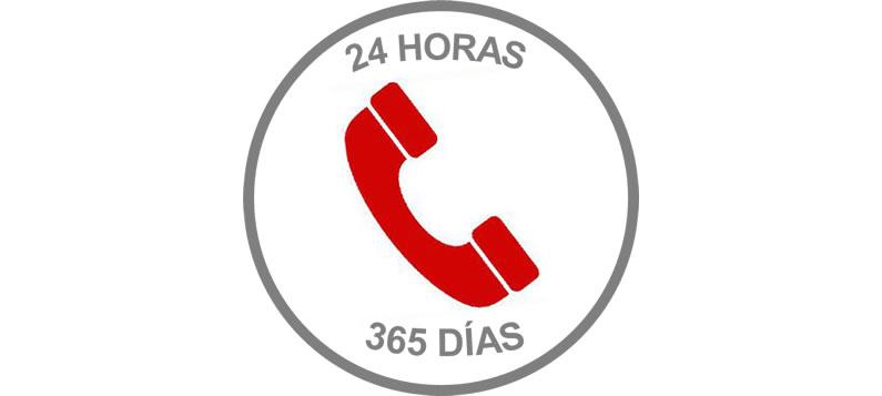 emergencias las 24 horas los 365 dias del a o